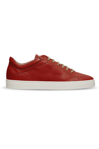 Neven Low Sneaker in Sumac Red