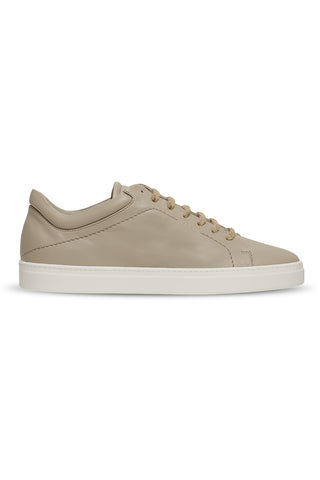 Neven Low Hemp Sneakers in Brown with White Sole