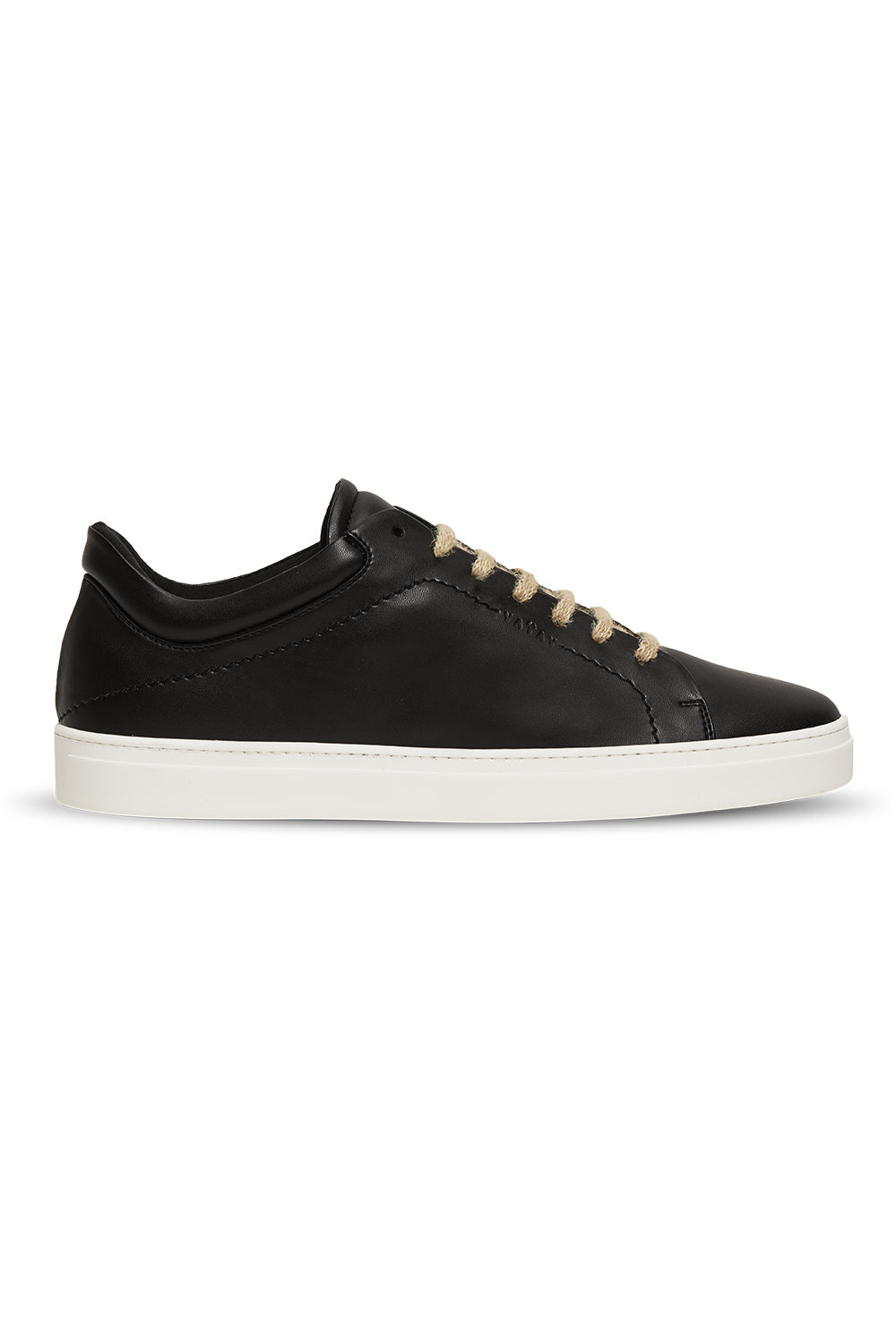 Neven Low Slate Sneakers in Black with White Sole
