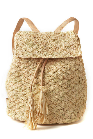 Zadie Backpack in Natural