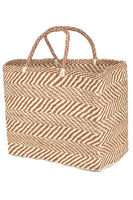 Tote Zigzag in Natural thumbnail