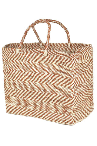 Tote Zigzag in Natural