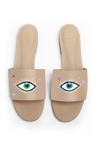 Eye and Stars Nude Slide
