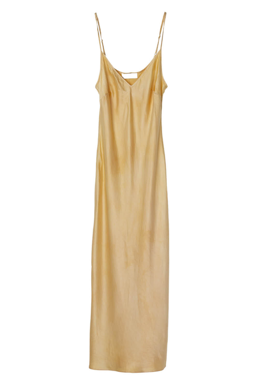 Aphrodite Midi Dress in Lemon Iris