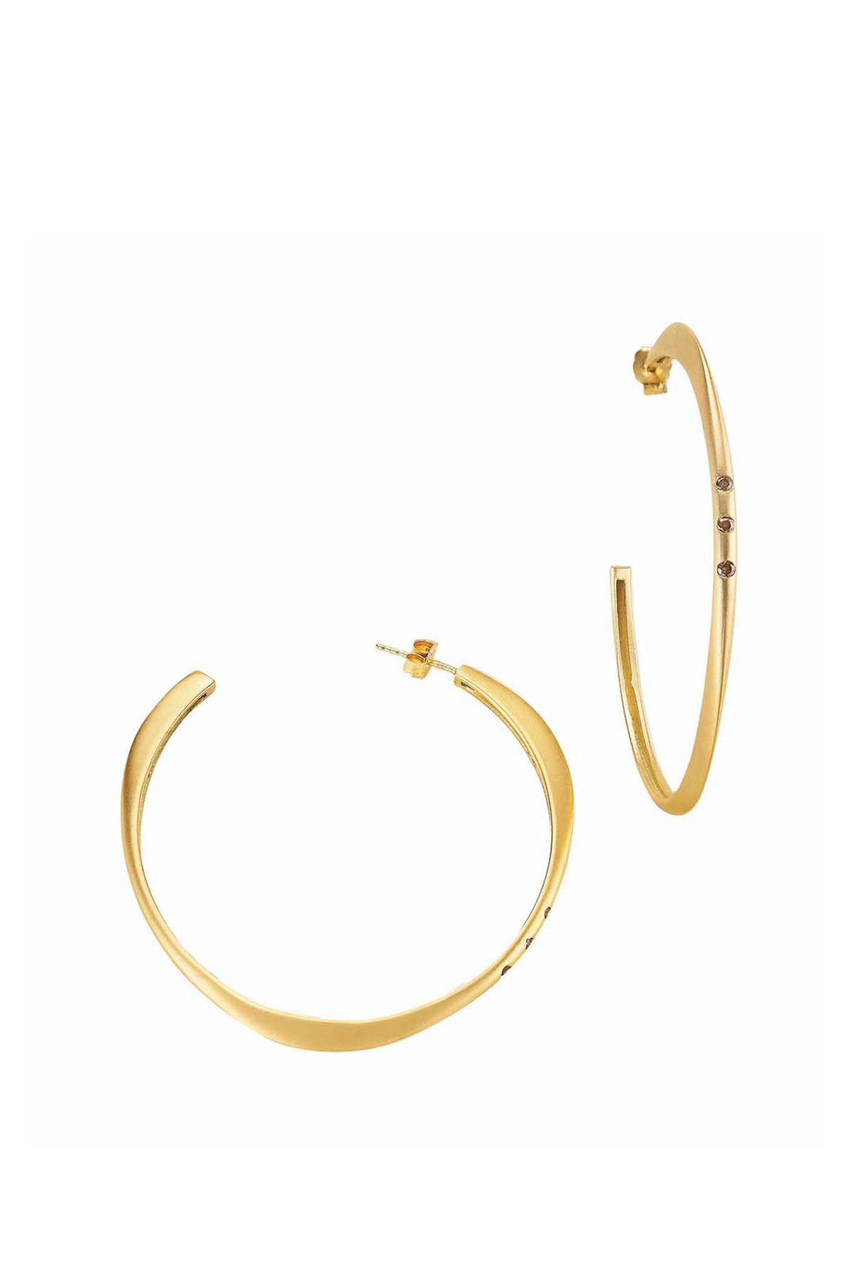 Halo Large Hoop Earrings