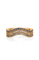 Ombre Sapphire Stack Rings thumbnail