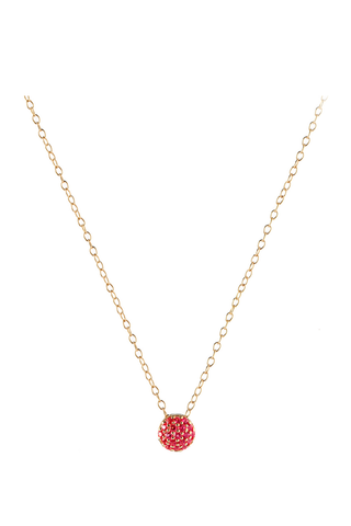 Ruby Dot Necklace