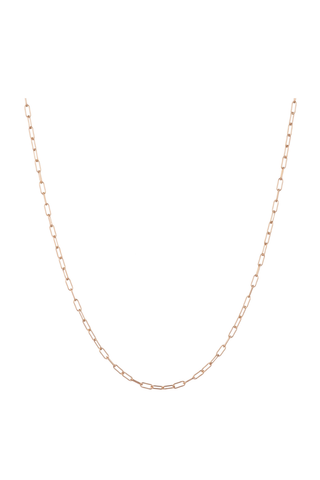 Paperlink Rose Gold Chain
