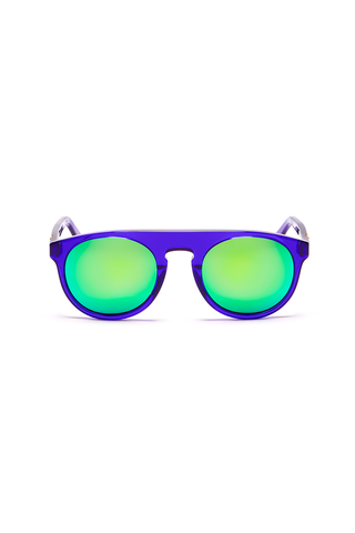 Atlas 17 Frame with Emerald Lenses & Super Gold Inlay