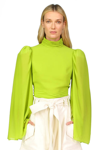 Blaise Top in Lime