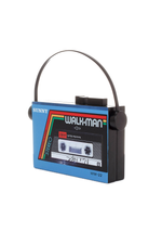 Walkman Clutch in Blue thumbnail