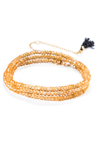 Black Label Citrine Bracelet