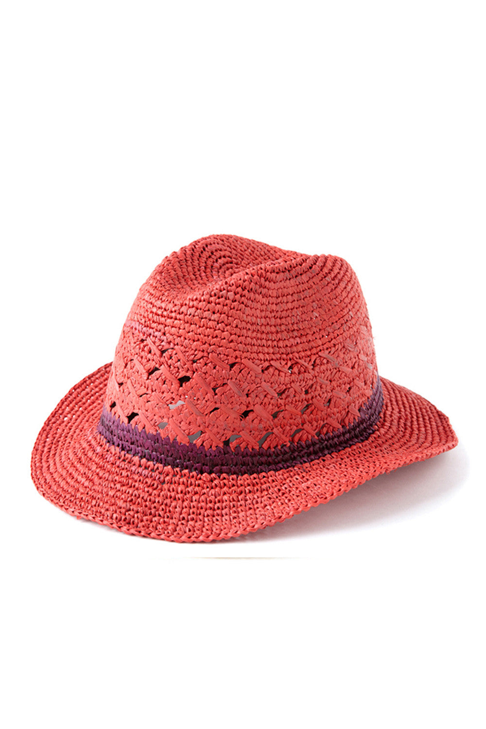 Avery Hat in Coral