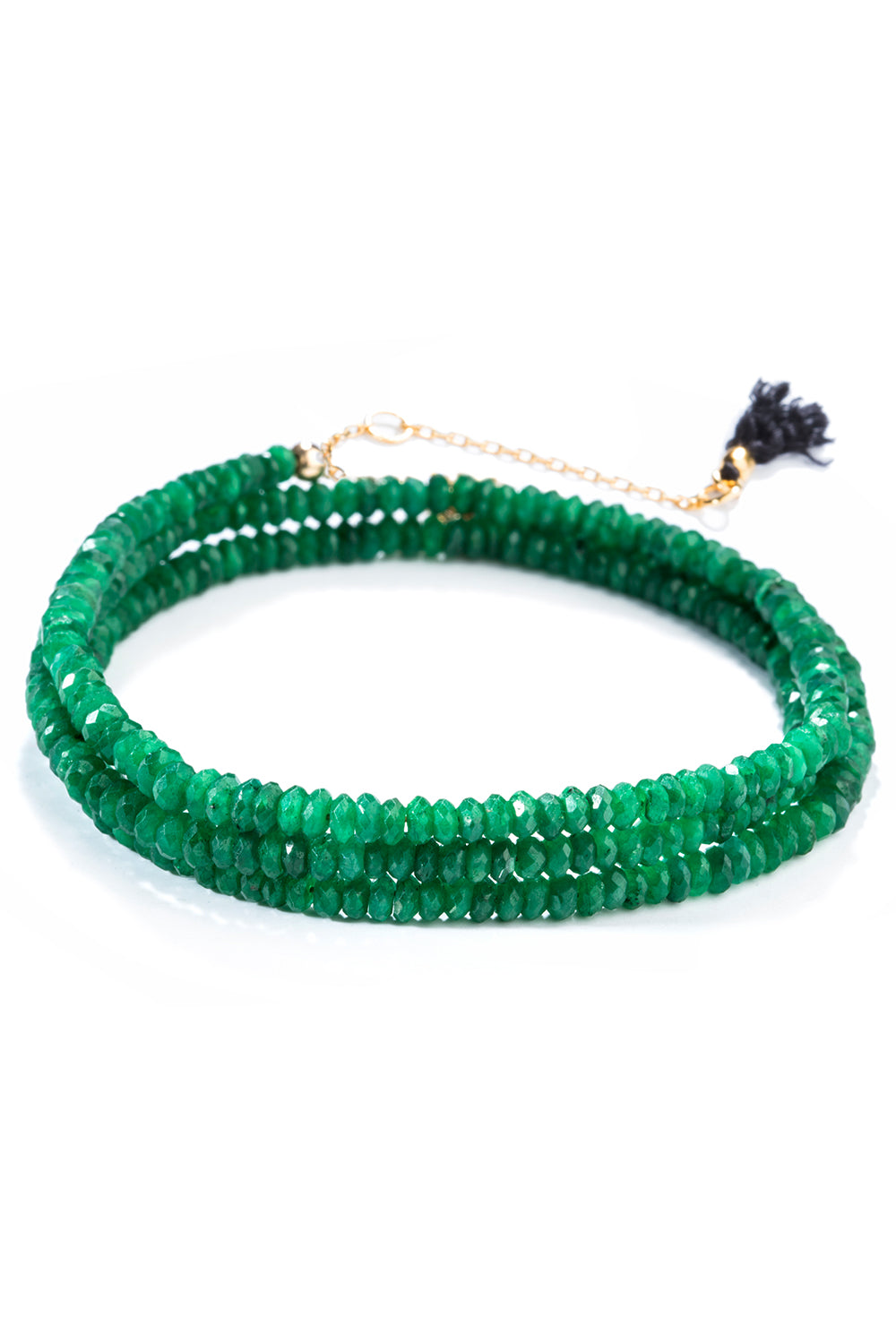 Black Label Emerald Bracelet