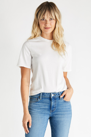 Evie Classic Tee in White