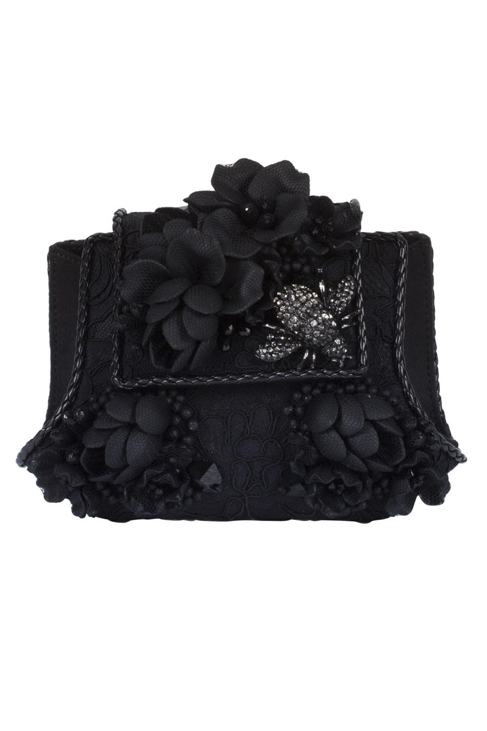 EXUS Clutch in Black