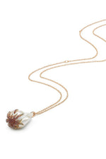 Flame Pearl Necklace thumbnail