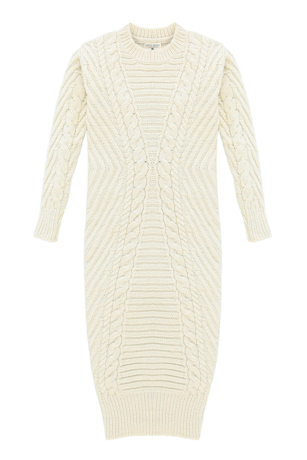 Mt. Tam Sweater Dress in Natural