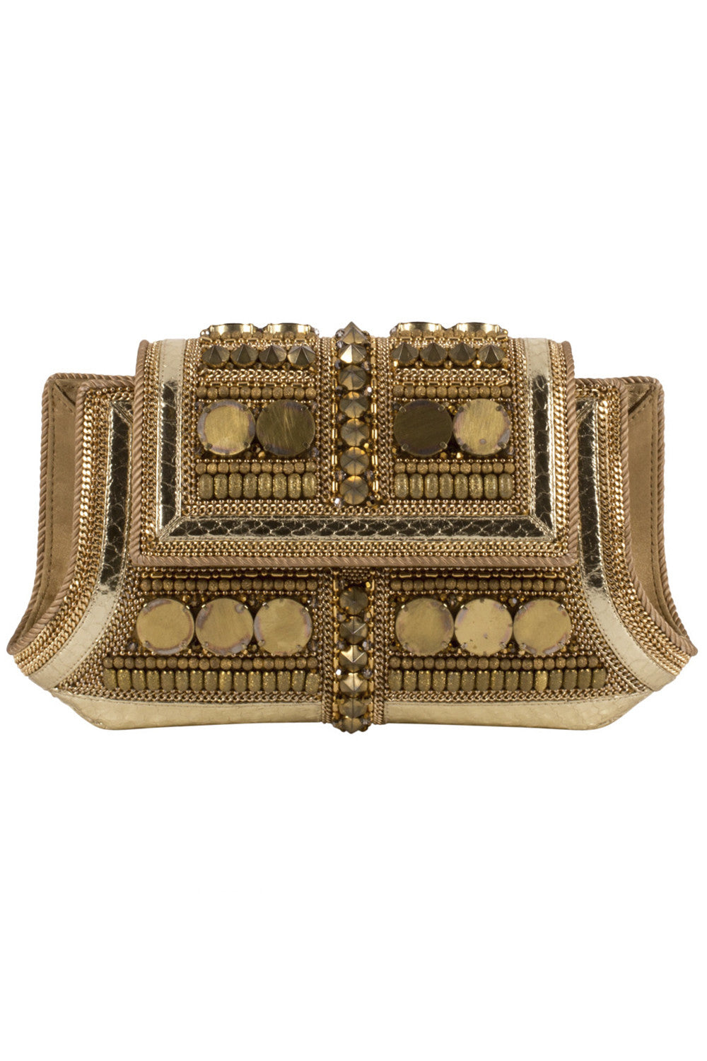 KIDLAT 2.0 Clutch in Gold