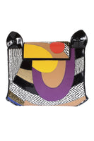 KITTY LARGE Clutch in Pink & Multi thumbnail