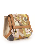 MANDALAY Clutch in Multi Tan thumbnail