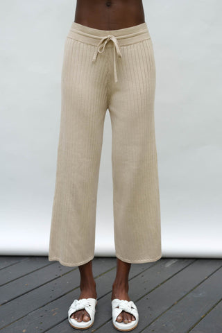 Maya Track Pant in Wheat