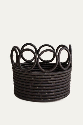 Ikamba Basket - Black