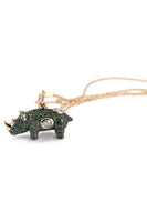 Green Rhino Necklace thumbnail