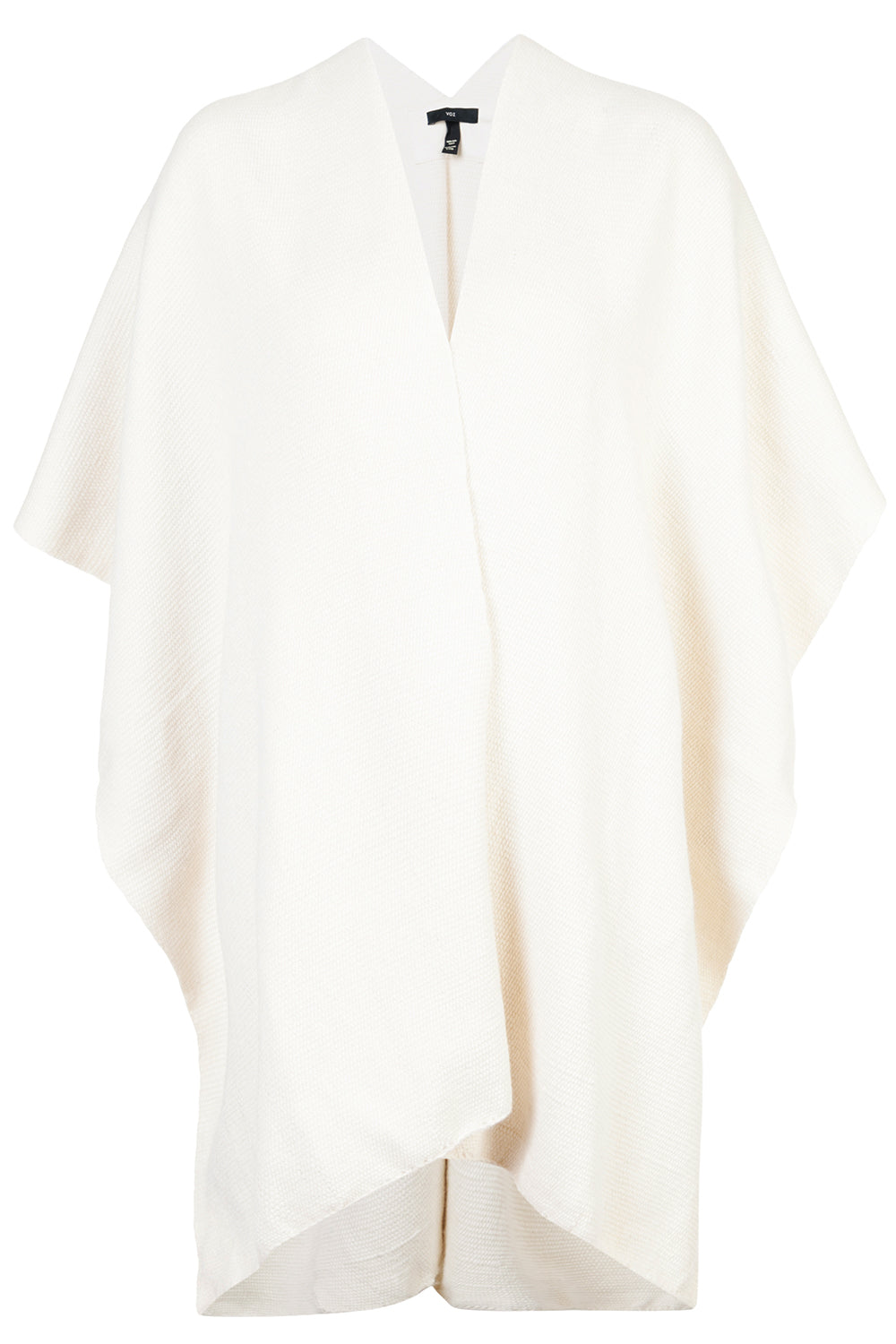Cotton Short Duster in Ivory