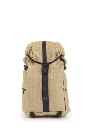 Silk Straw Backpack in Natural