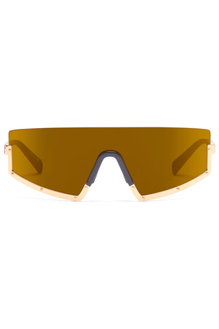 STUN 02 Sunglasses in Gold