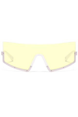 STUN 03 Sunglasses in White