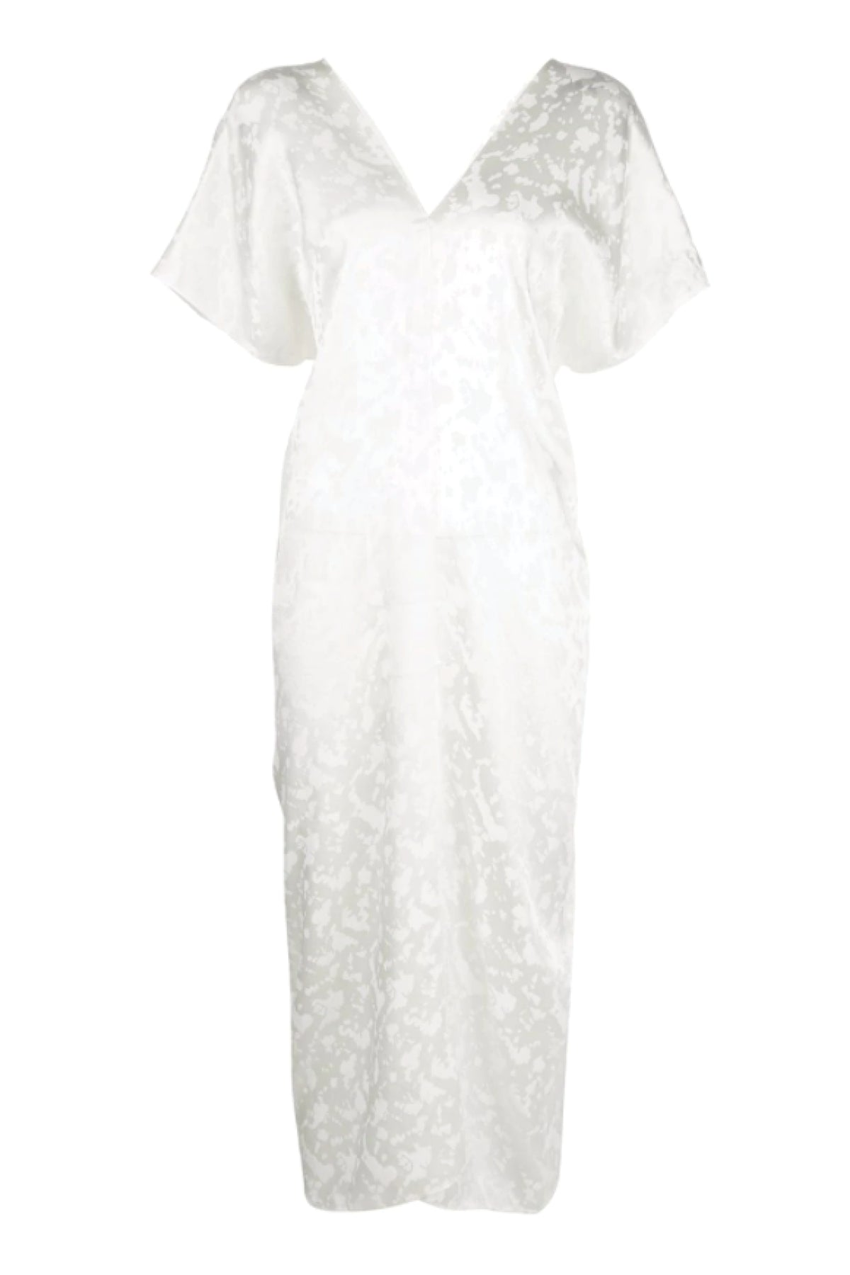 Two Panel Caftan Dress - Ivory