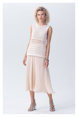 Pascuala Knit Top - Ivory