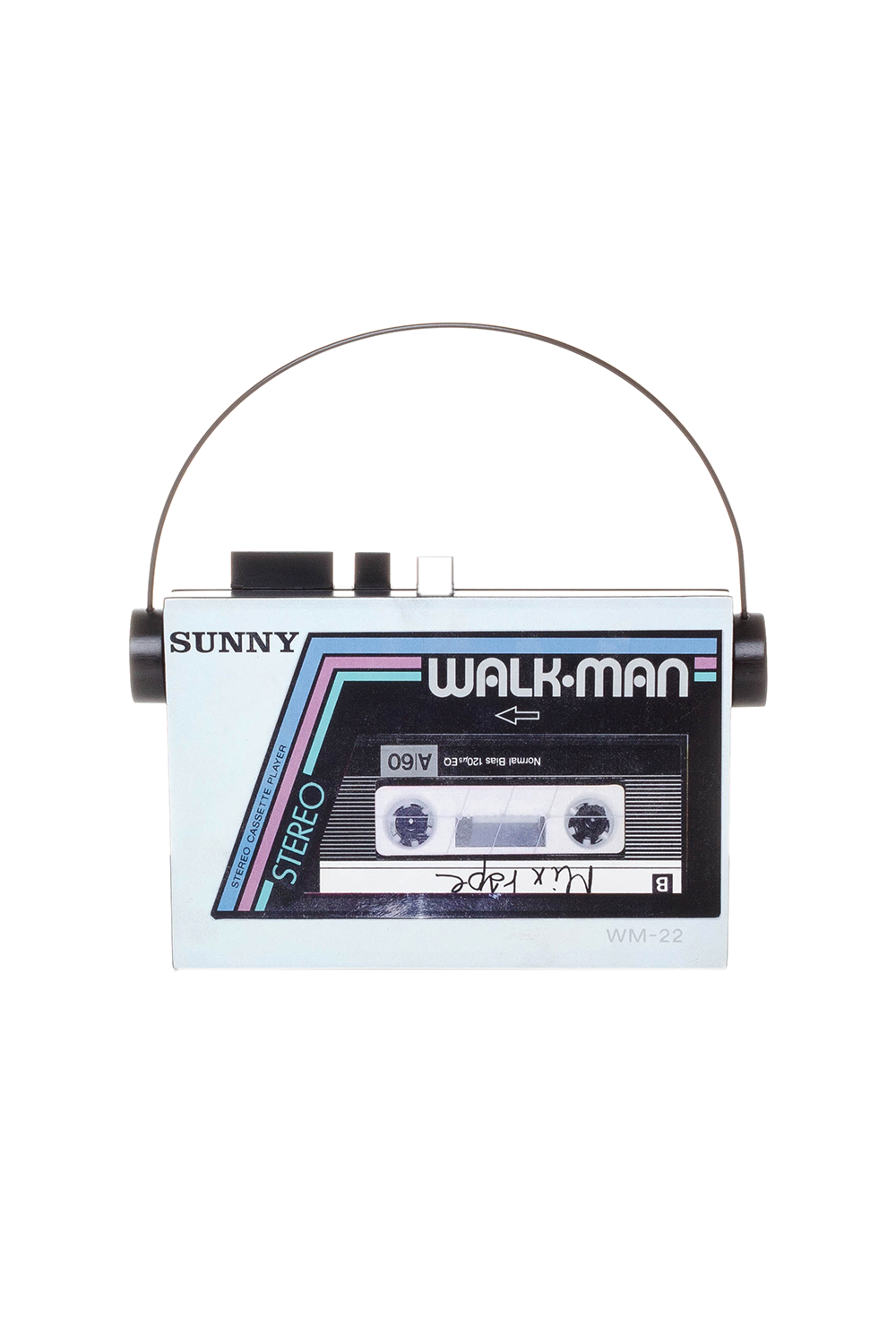 Walkman Clutch in White