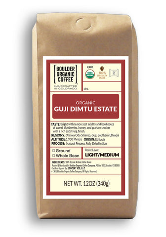 Organic Guji Dimtu Estate Ethiopian Coffee