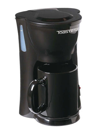 Toastess One Cup Coffee Maker - Black