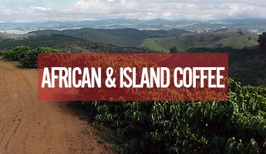 Fair Trade Organic Coffee from Africa & Island Nations