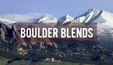 Boulder Organic Fair Trade Organic Coffee Blends
