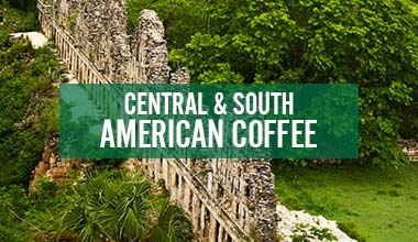 Fair Trade Organic Coffee from Central & South America