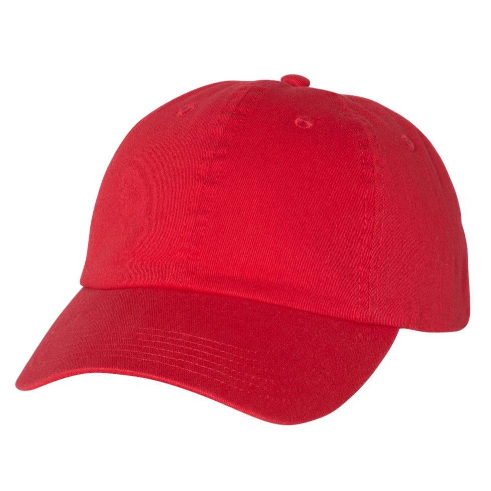 champion hat red