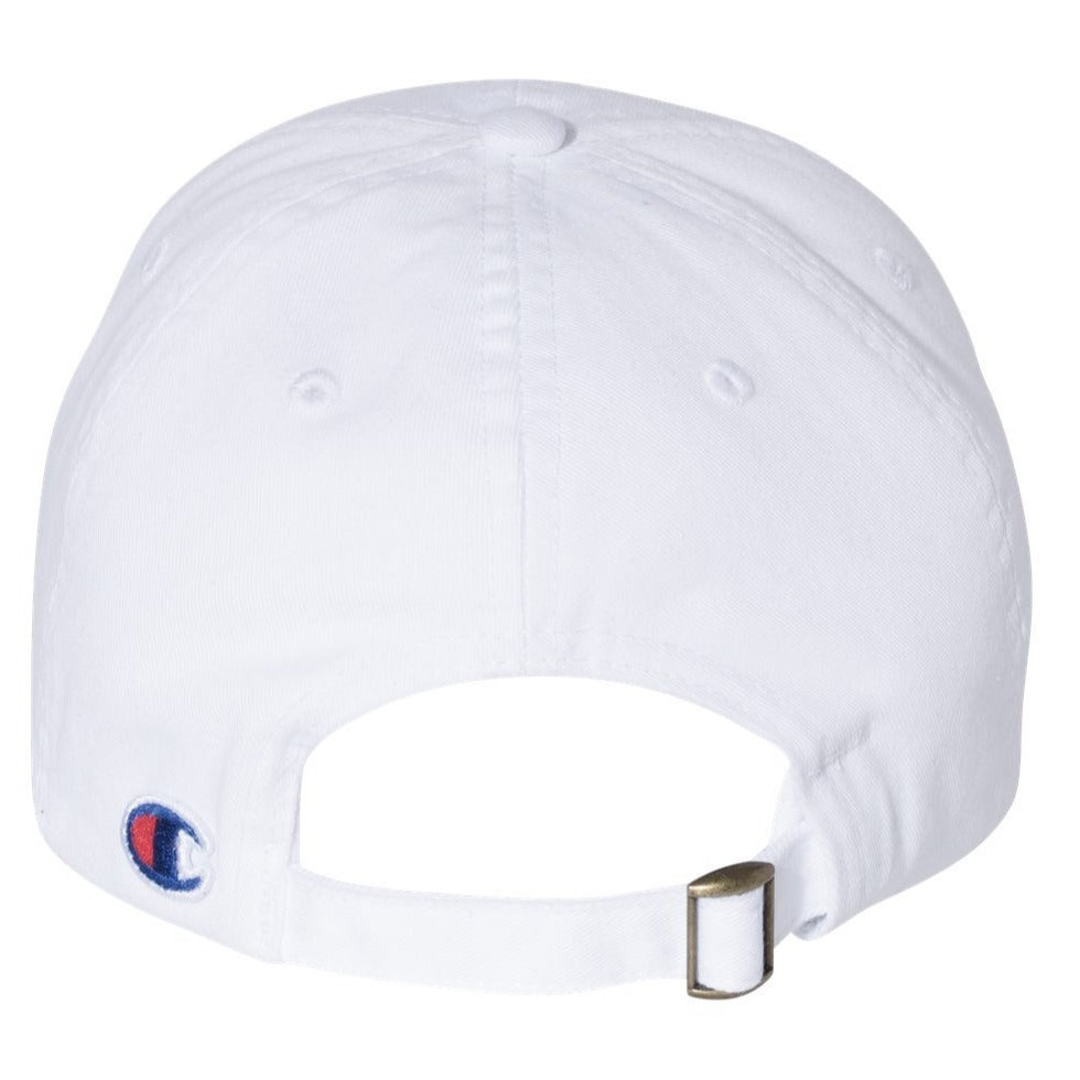 Champion Twill Baseball Cap - Low Profile Dad Hat Adjustable Strap