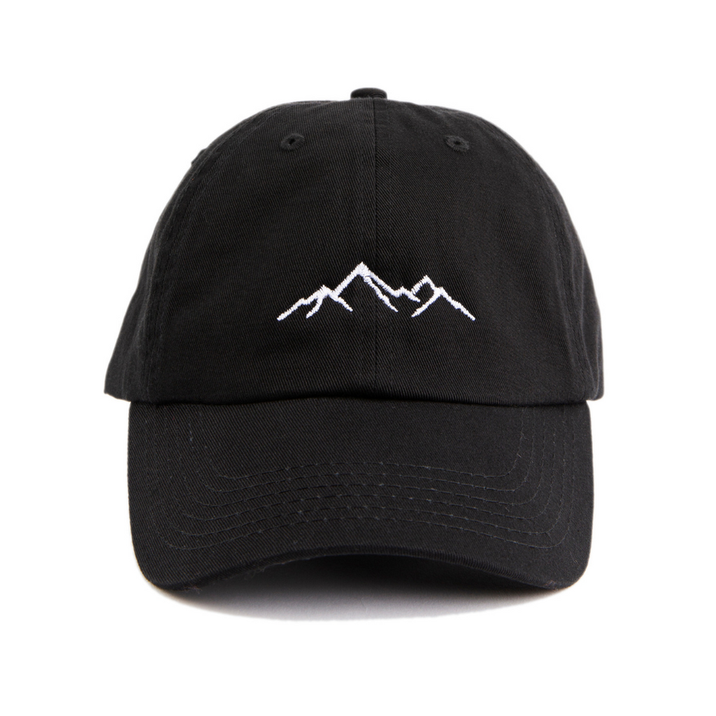 f1cd5a47364fc6 Mountain Embroidered Baseball Cap Low Profile Dad Hat Adjustable Strap. Next