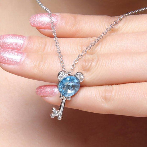 micKEY Crystal Necklace