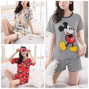 Lovely Shirt & Shorts Sleep Wear Set