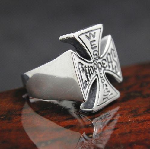 West Coast Choppers Biker Ring (sizes 8-13)
