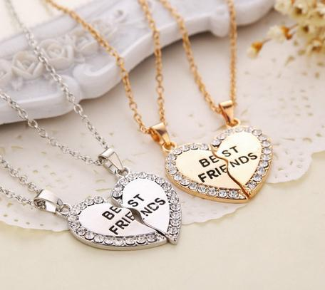 BFF Charming Heart Pendant - Shopy Bay