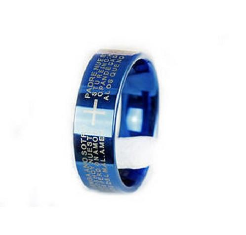 Cross Stainless Steel Ring - Shopy Bay