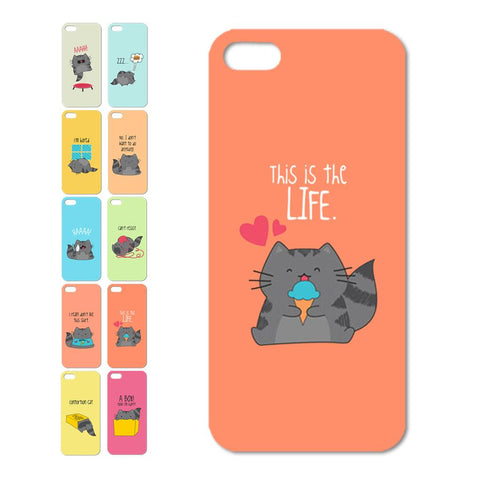 Cute Cats Patterns Series iPhone Case