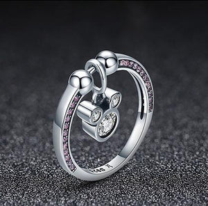 925 Sterling Silver Ring (size 6-8)